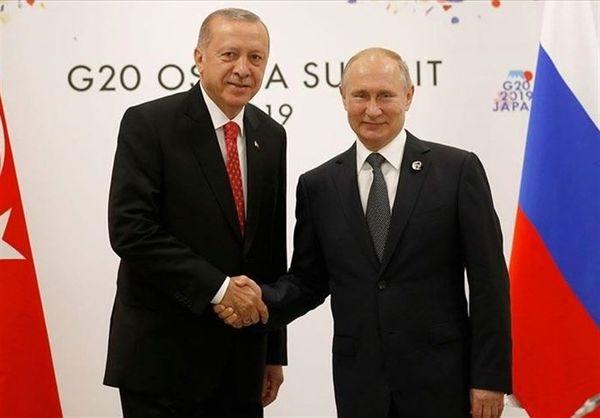 رایزنی تلفنی پوتین و اردوغان درباره قرهباغ
