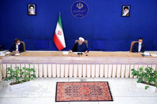 واکنش روحانی به ادعای انتخاب وزرا برمبنای رفاقت