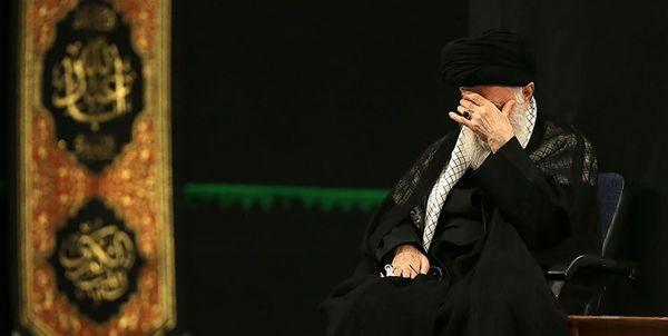 مراسم عزاداری شب شهادت امامسجاد (ع) با حضور رهبر انقلاب برگزار شد