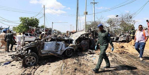 تعداد کشته شدگان انفجار انتحاری در سومالی