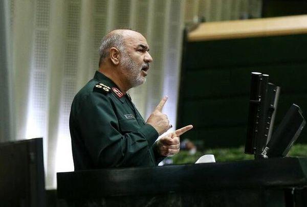 پاسخ فرمانده کل سپاه به احتمال وقوع جنگ علیه ایران