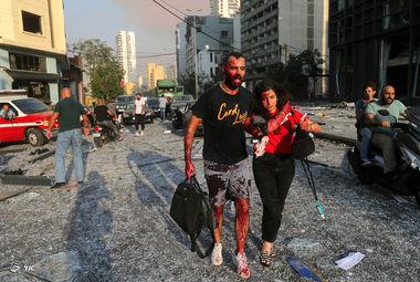 بر اثر انفجار روز سه شنبه در بندر بیروت خسارات زیادی به ساختمان پارلمان لبنان در مرکز بیروت و تعدادی از ساختمان های اطراف بندر وارد شد.