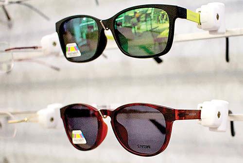 انتقاد ازعدم ثبتسفارش عینکهای آفتابی