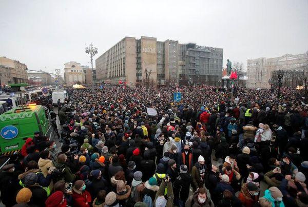 افزایش جریمه اعتراضها در روسیه