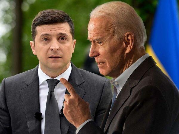 نخستین تماس بایدن با همتای اوکراینی