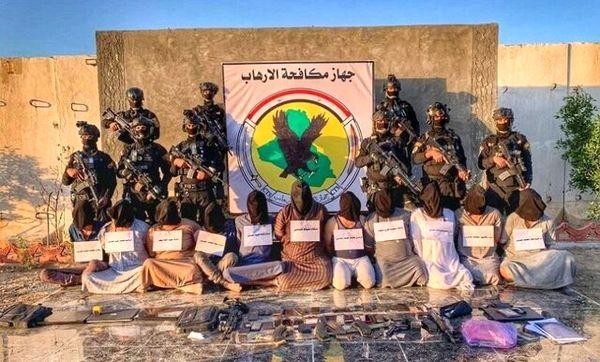 انهدام یک باند تروریستی در صلاحالدین عراق