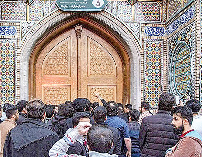 دستگیری هتاکان به حرم حضرت معصومه(س)