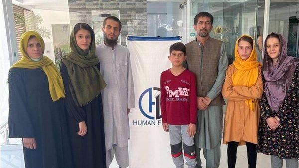 امان خلیلی، نجاتدهنده بایدن، افغانستان را ترک کرد