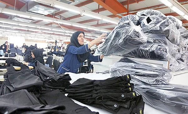 صادرات پوشاک به 35 میلیون دلار رسید
