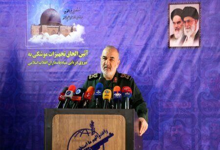 سردار سلامی: قدرت افزایی ما براساس تدبیر و آرمان طلبی و برای ارتقا شکوه و عظمت ملت ایران است