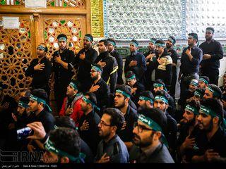 آیین مذهبی قالی شویان مشهد اردهال