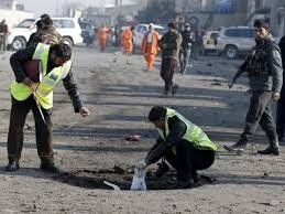 وقوع چندین انفجار در یکی از شهرهای افغانستان