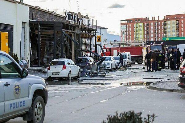 حادثه انفجار در رستورانی در کوزوو