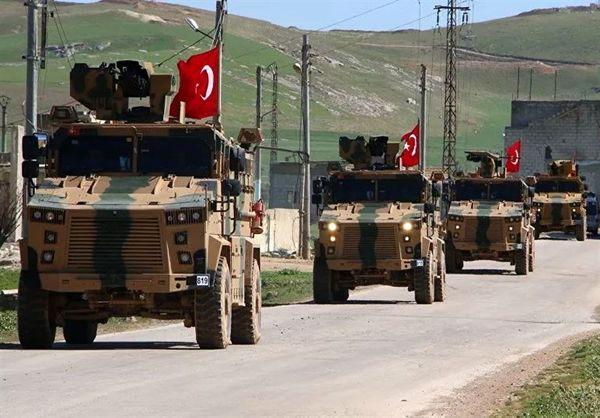 ورود کاروان نظامی ارتش ترکیه به شمال سوریه