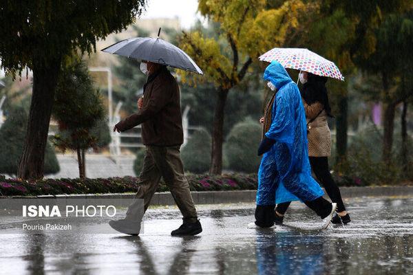 وزش باد شدید و رگبار باران در چند استان