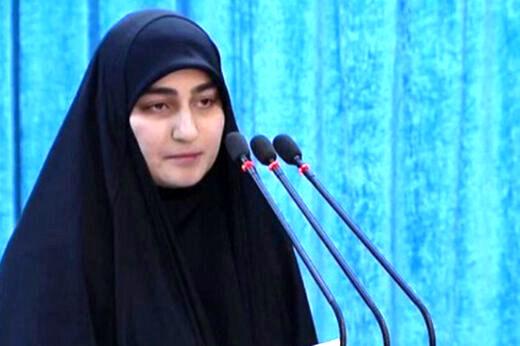 واکنش دختر سردار سلیمانی به ترور دانشمند ایرانی