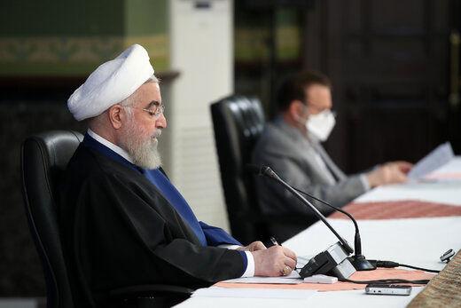 روحانی: برای گرفتن حق ملت ایران یک لحظه هم تعلل نمی کنم