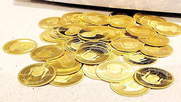 پله اول کاهش بهای سکه