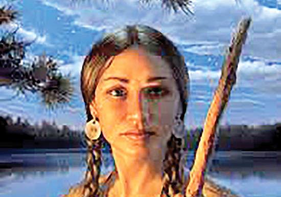 ساکاگاوا، سرخپوست کاوشگر
