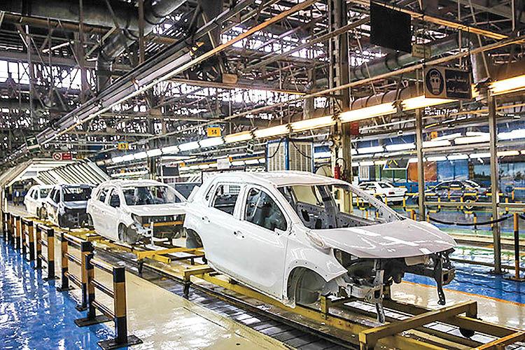 تداوم روند نزولی تولید خودرو