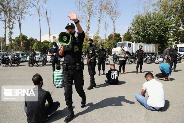دستگیری ۷۸۰ نفر اراذل و اوباش در فارس
