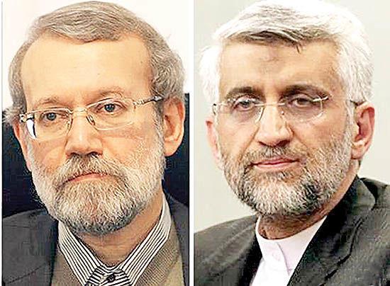 راند دوم مبارزه انتخاباتی لاریجانی-جلیلی