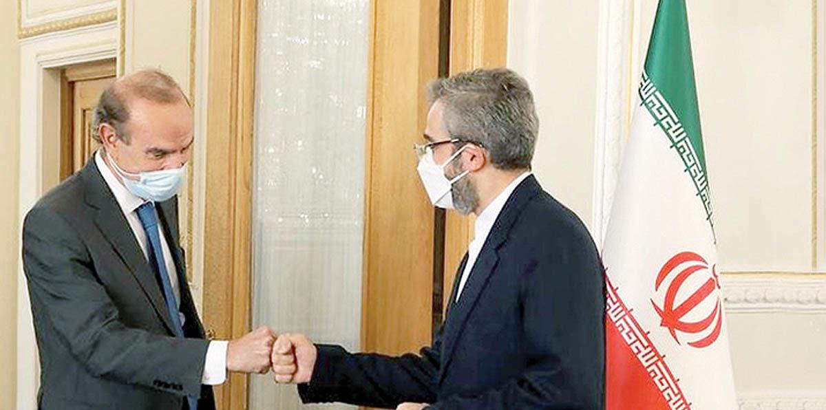 مذاکره باقریکنی با نماینده اروپا