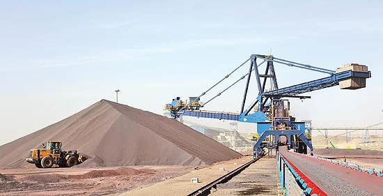 تولید 3 /2میلیون تن کنسانتره و گندله در «صنایع معدنی فولاد سنگان»