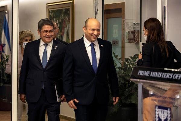 افتتاح سفارت هندوراس در قدس اشغالی