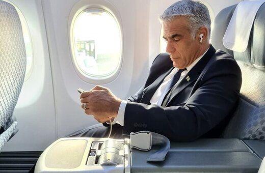 وزیر خارجه رژیم صهیونیستی وارد امارات شد