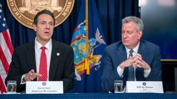 فشار شهردار نیویورک به فرماندار برای استعفا