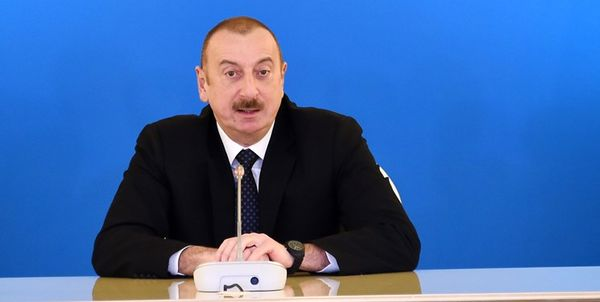 تشکر دوباره رئیس جمهور آذربایجان از ایران