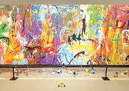 خرابکاری زوج کرهای  روی نقاشی گرانقیمت