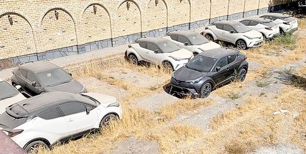 ترافیک فروش خودروهای صفر خارجی