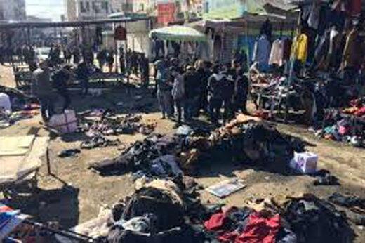 عوامل انفجار بغداد عراقی بودند