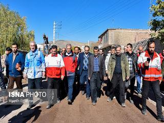 بازدید ربیعی از مناطق زلزله زده آذربایجان شرقی