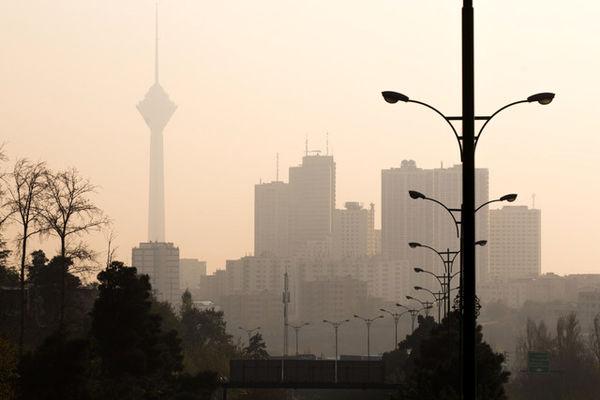 رکوردشکنی آلودگی هوای تهران در نخستین هفته پاییز 1400