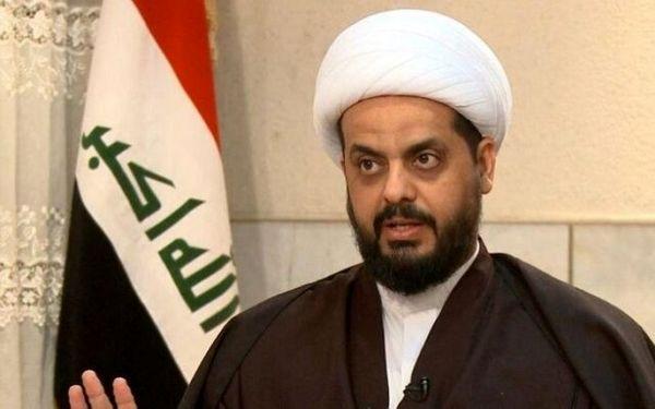 پیش بینی دبیرکل جنبش عصائب اهل الحق عراق درباره آینده الکاظمی