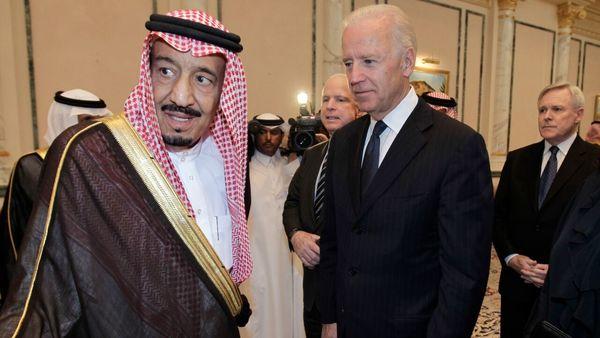تماس تلفنی بایدن با پادشاه عربستان