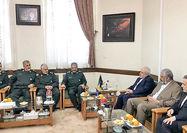 دیدار محمد جواد ظریف با فرماندهان ارشد سپاه