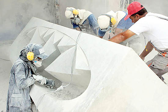 برپایی سمپوزیوم مجسمهسازی در کیش