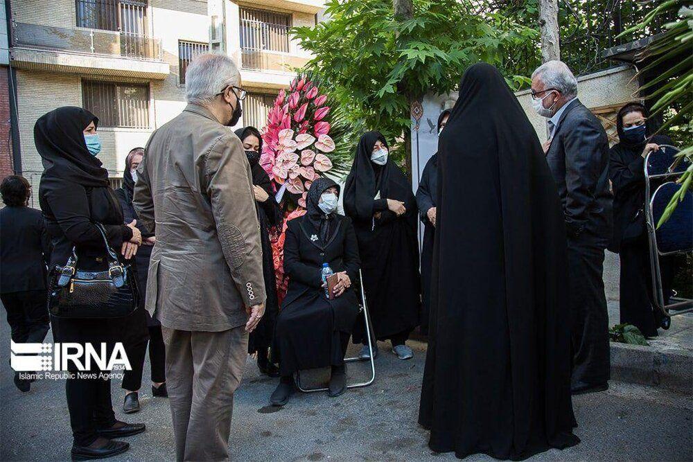 حضور چهره های سرشناس سیاسی در مراسم تشییع اکبر ترکان + تصاویر