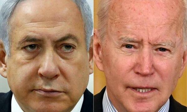 درخواست نتانیاهو از بایدن درباره جنگ غزه
