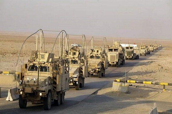 حمله به 2 کاروان لجستیک آمریکا در عراق