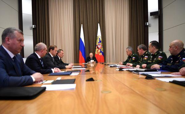 پوتین: توانمندی ما برای پاسخ به حمله اتمی باید افزایش یابد