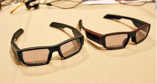 واقعیت افزوده در عینک آفتابی
