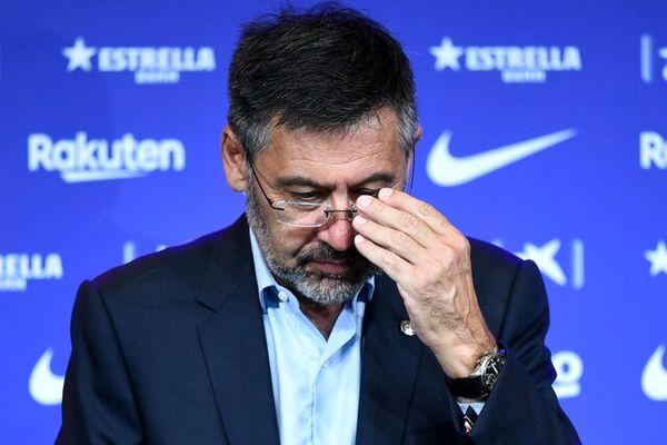 استعفای رییس بارسلونا از سمتش