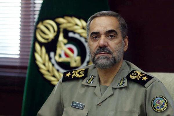 هشدار توئیتری  وزیر دفاع به دشمنان ایران