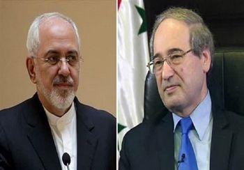 جزییات گفت و گوی ظریف با وزیر خارجه سوریه