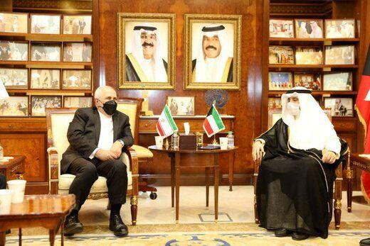 دیدار وزیران خارجه ایران و کویت